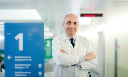 Le Professeur Dr med. Aristomenis Exadaktylos. Photo : Inselspital Bern